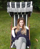 Stacey Solomom Deckchairstripes Deckchair Celebrity