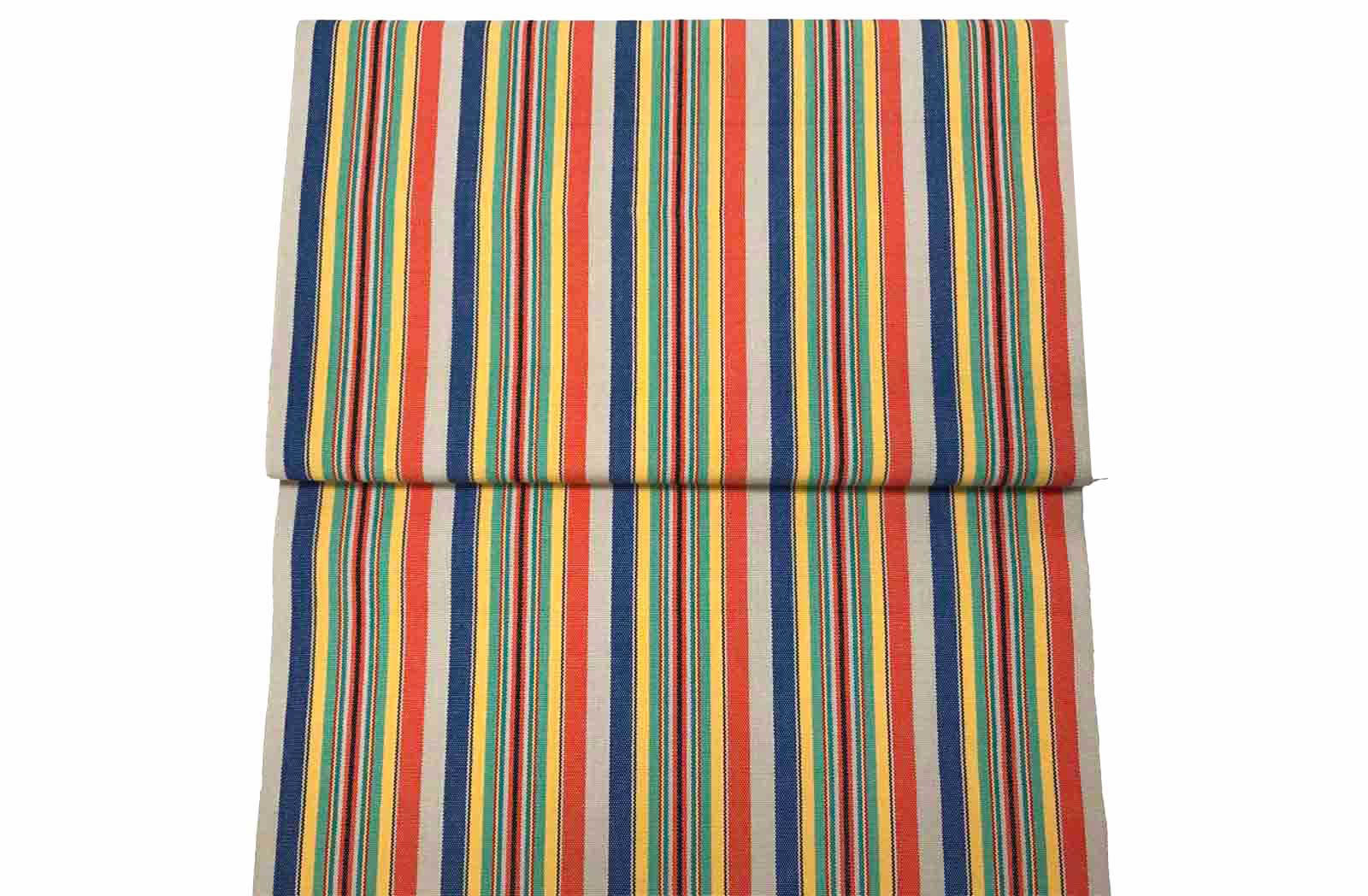 Replacement Deck Chair Slings dark blue, beige, orange