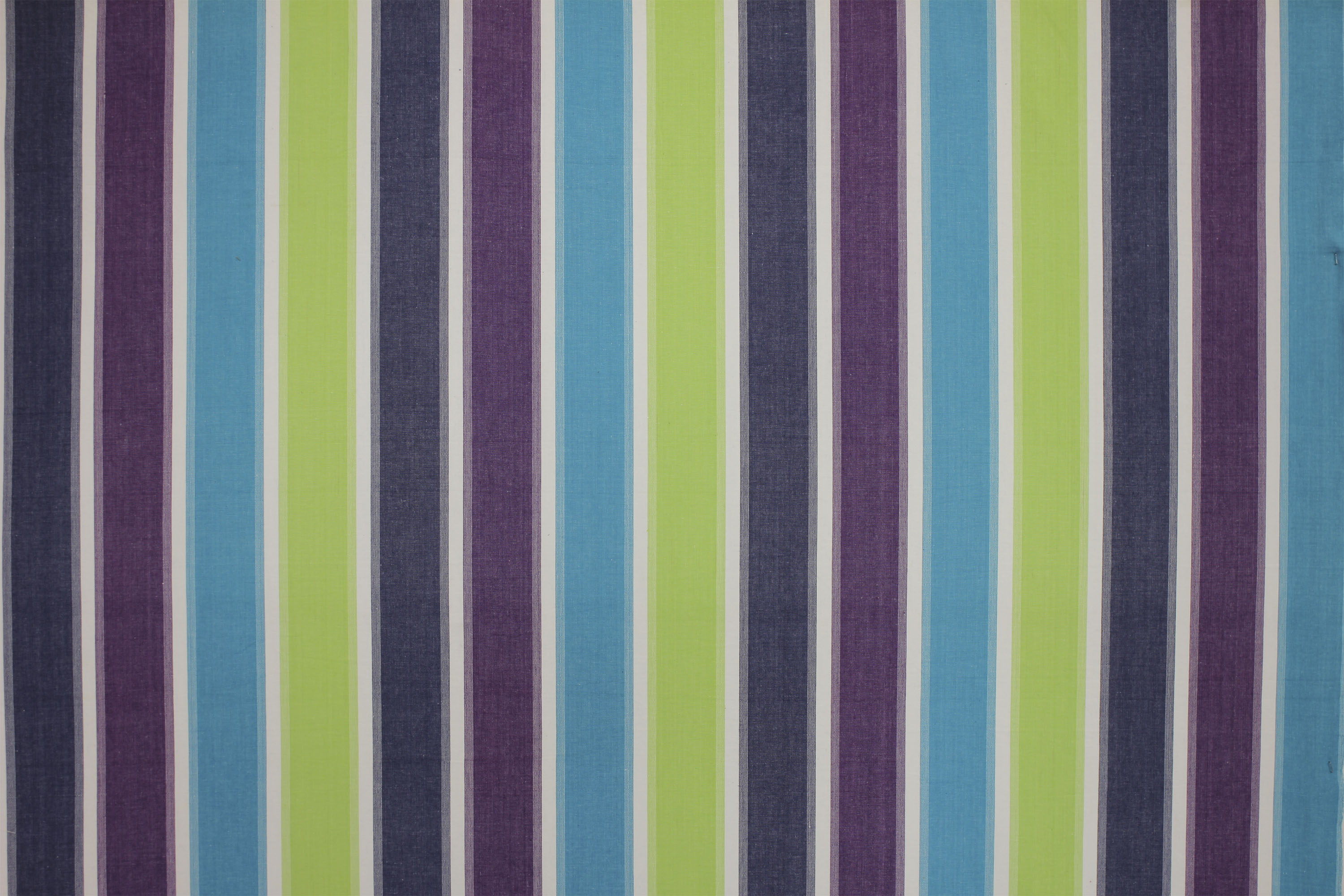 Wipe Clean Fabrics | Water Repellent Fabrics | Striped Coated Fabrics lime green, turquoise, white