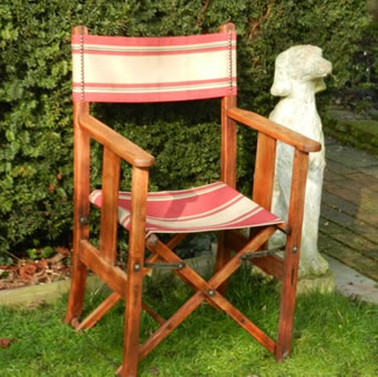 Wooden Directors Chairs how to recover a directors chair