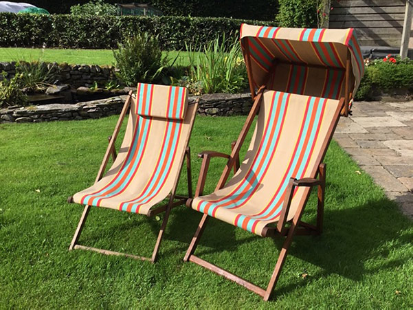 Recover Deck Chairs