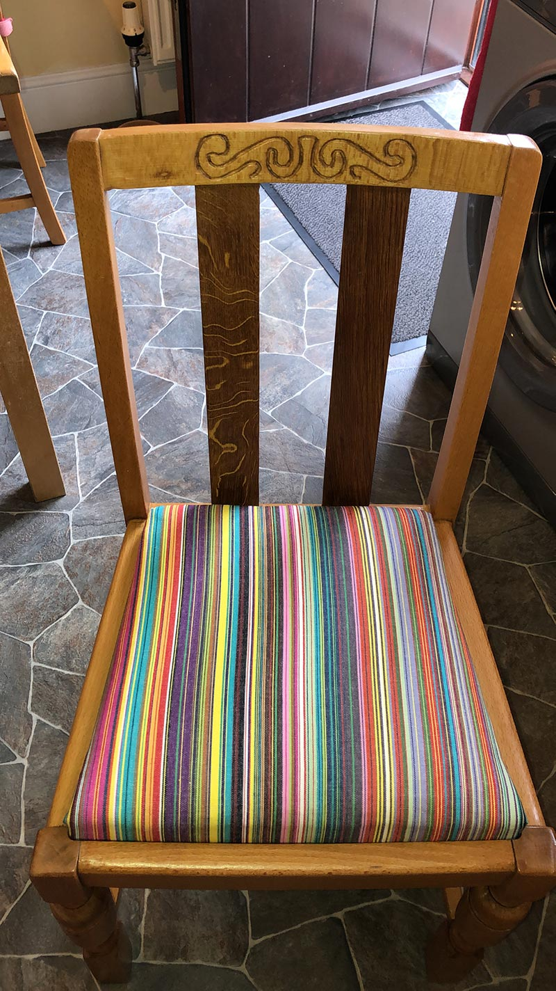 Recover Kitchen Chairs