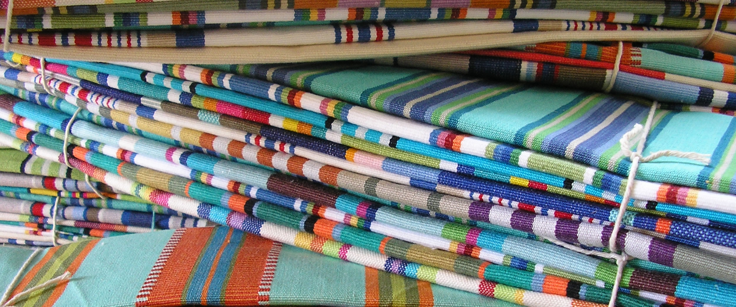 Assorted Deckchair Canvas Remnant Bundles