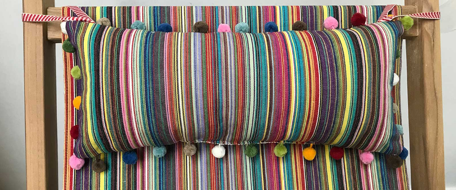 Deckchair Headrest Cushions