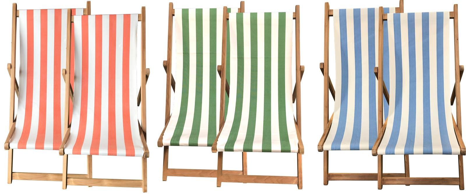 Buy a Pair of Deck Chairs from The Stripes Company USA