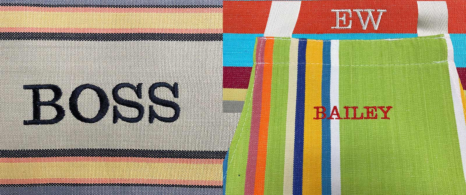 Personalise Your Stripes Company Products