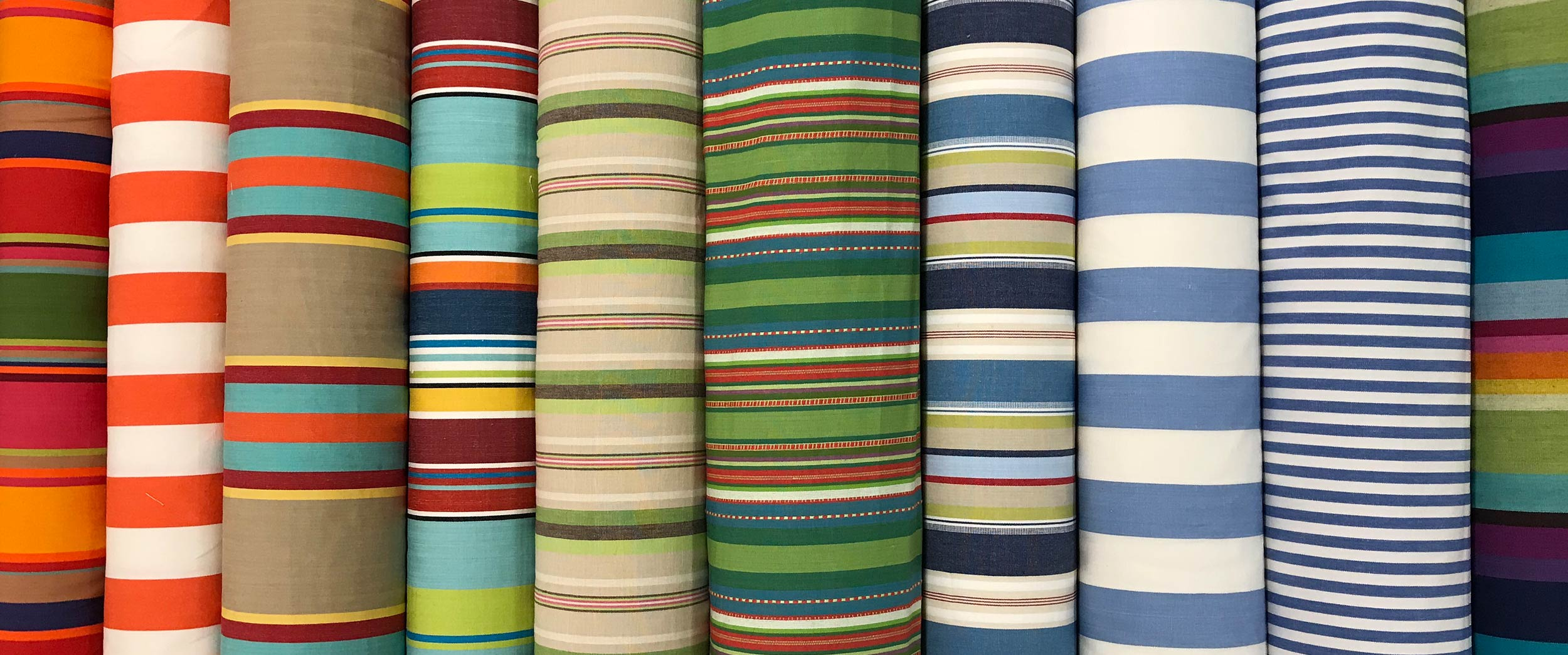 Striped Fabrics for Curtains, Blinds and Upholstery