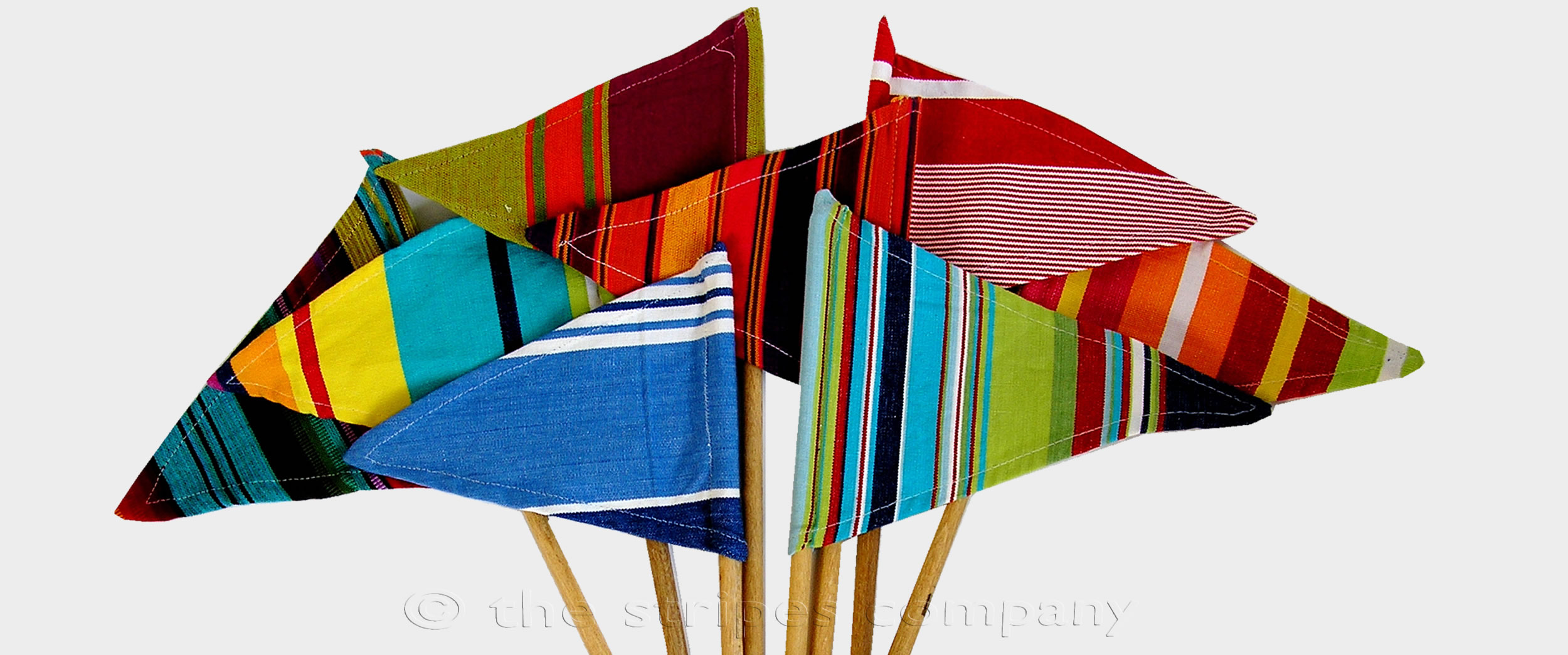 Sandcastle Flags | Striped Flags