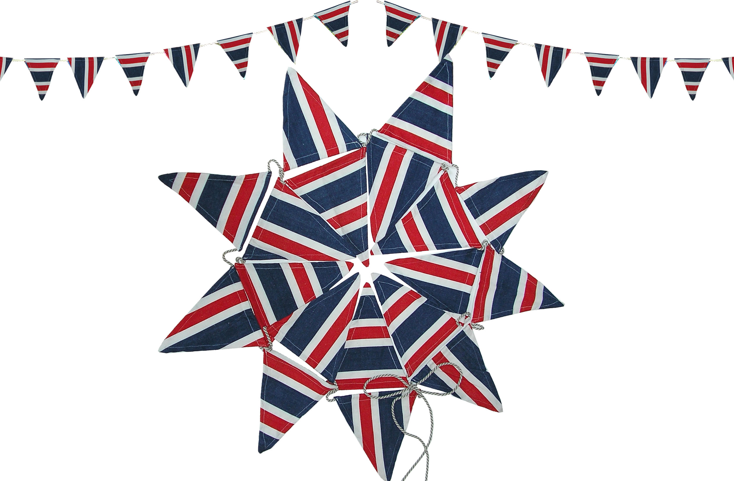 Red White and Blue Bunting | Jubilee Patriotic Bunting