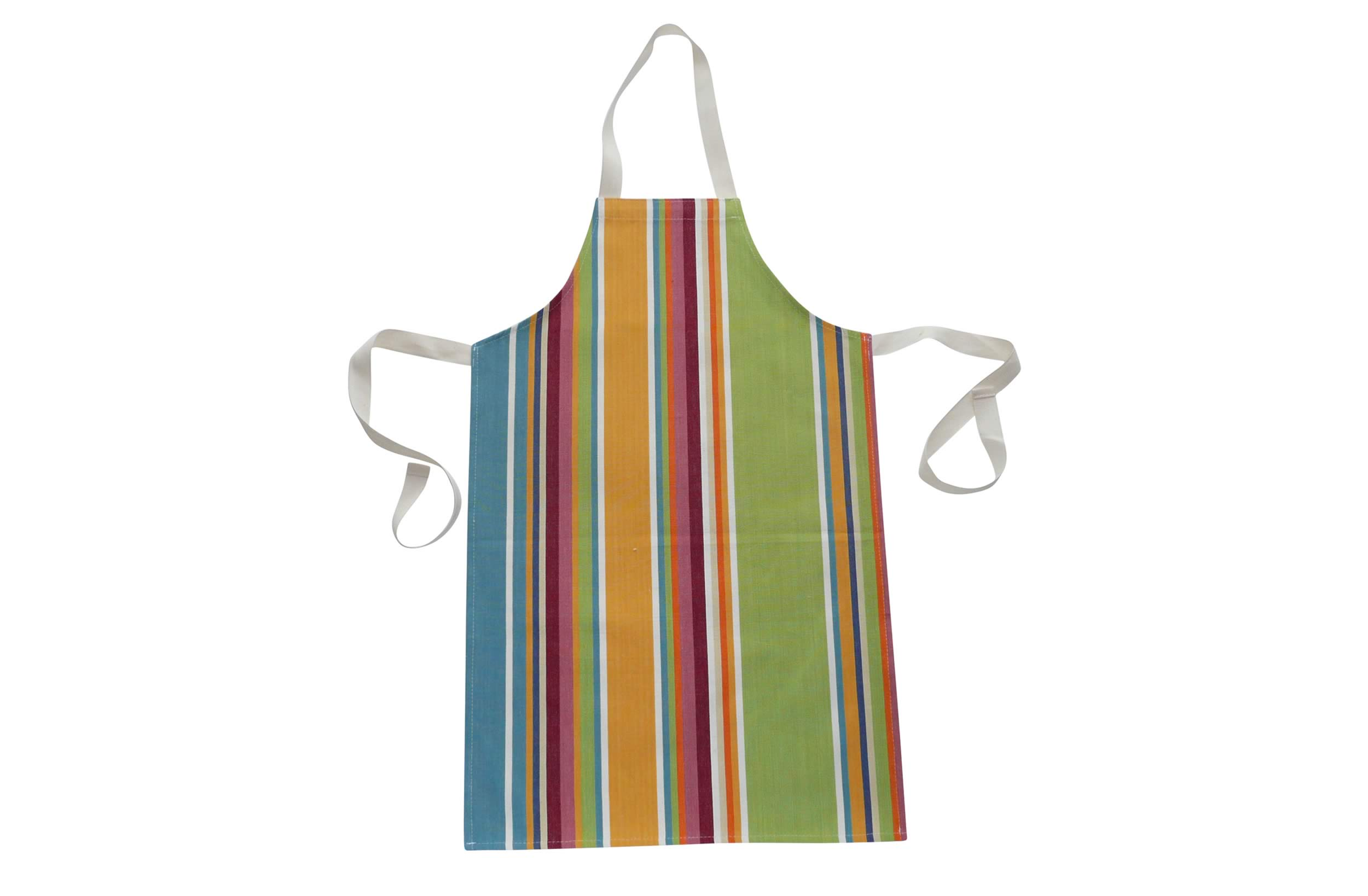 Yellow Striped Childrens Aprons