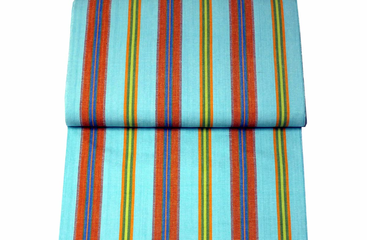 Deckchair Headrest Cushions | Tie on Pompom Headrest Pillows Pillows turquoise, terracotta, blue