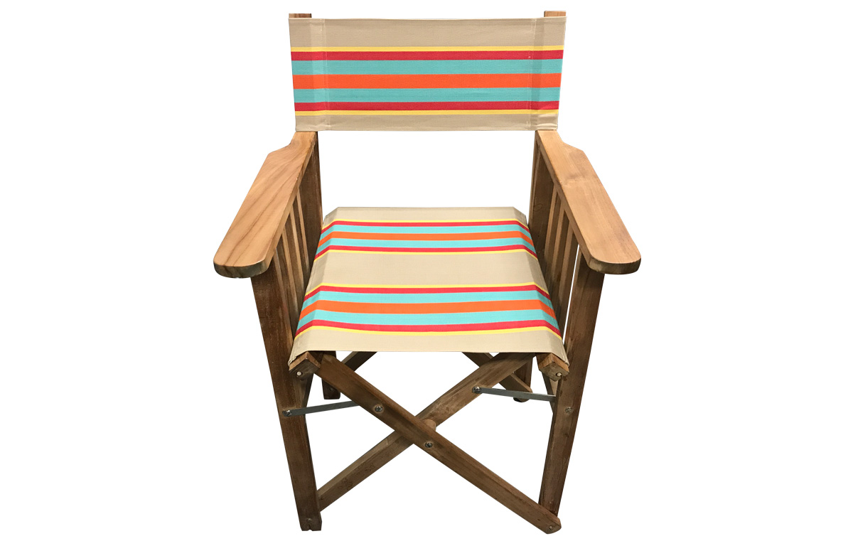 fawn, terracotta, turquoise - Directors Chairs