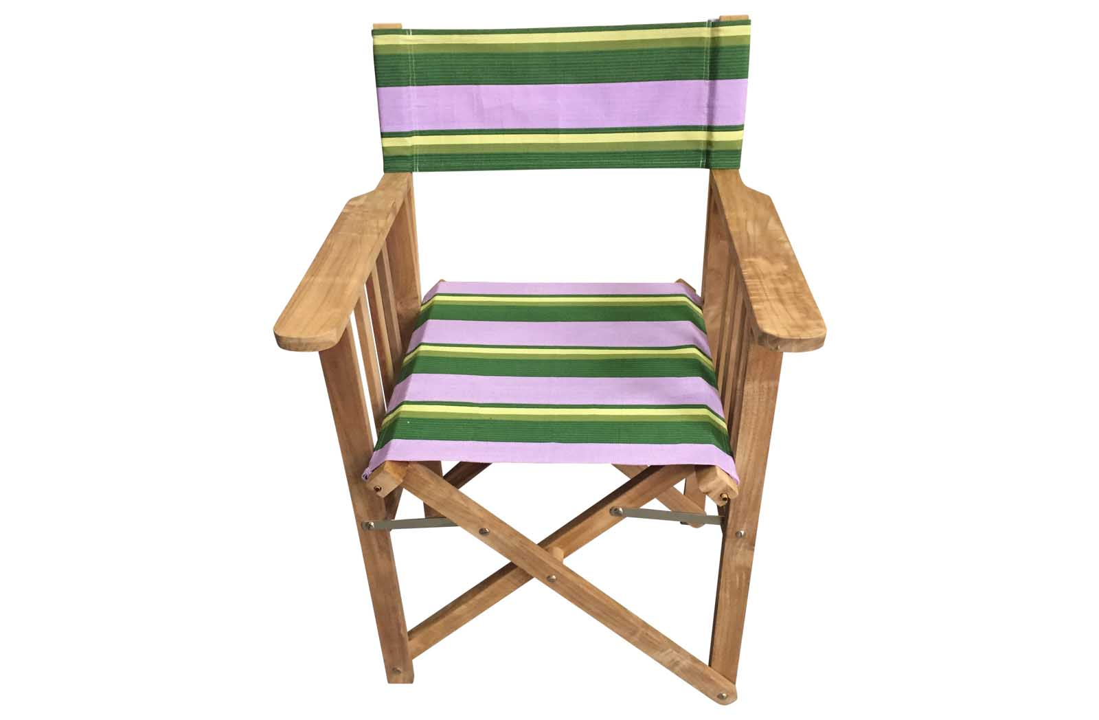 lilac, lime, dark green - Directors Chairs