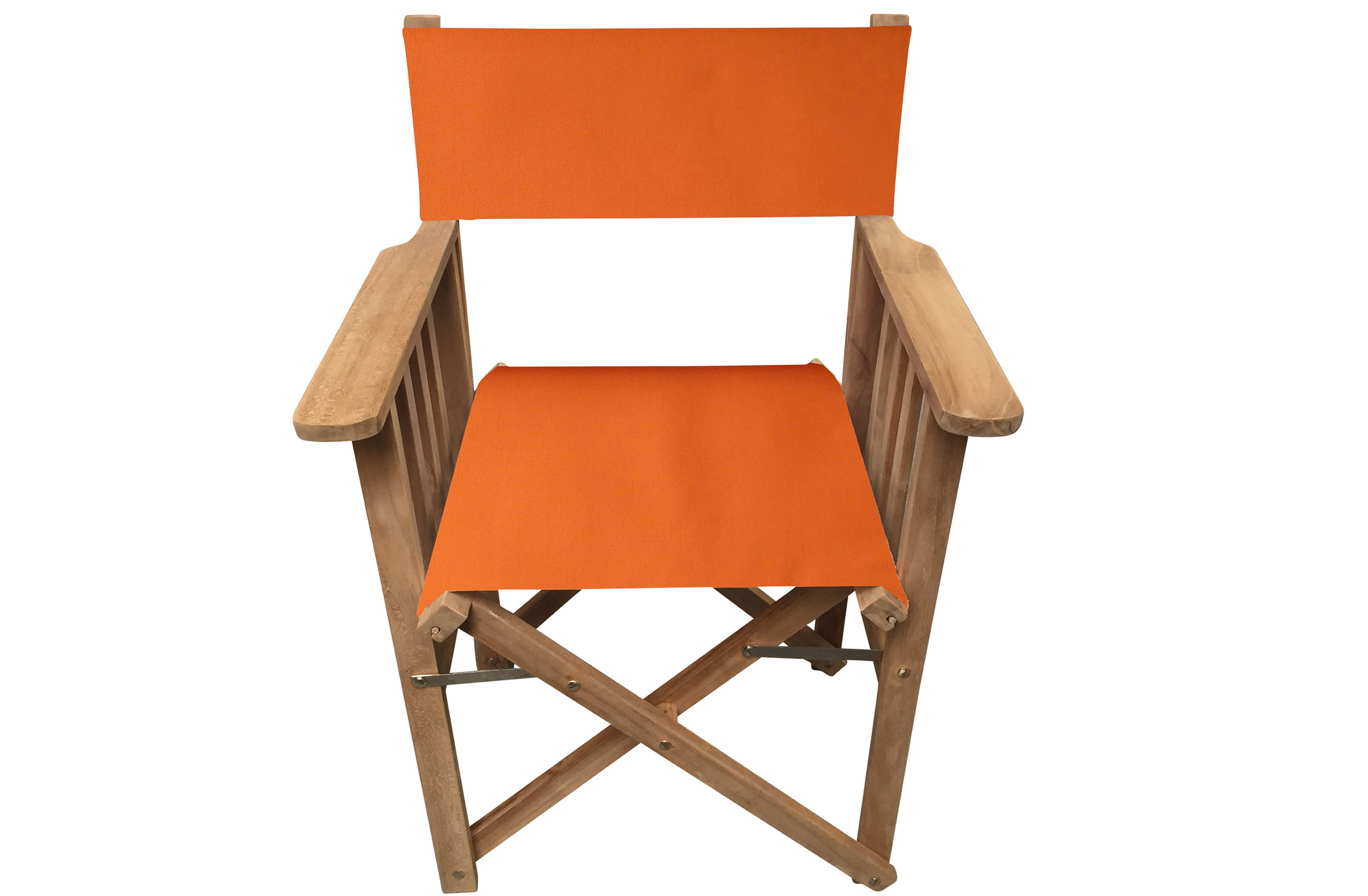 Orange Directors Chair