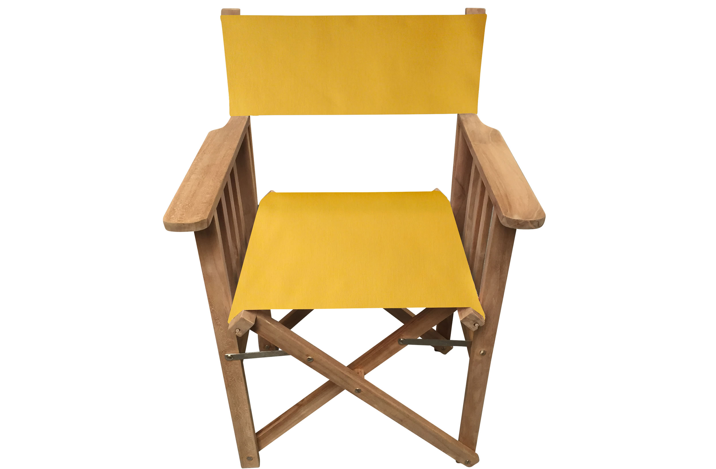 Yellow Directors Chair