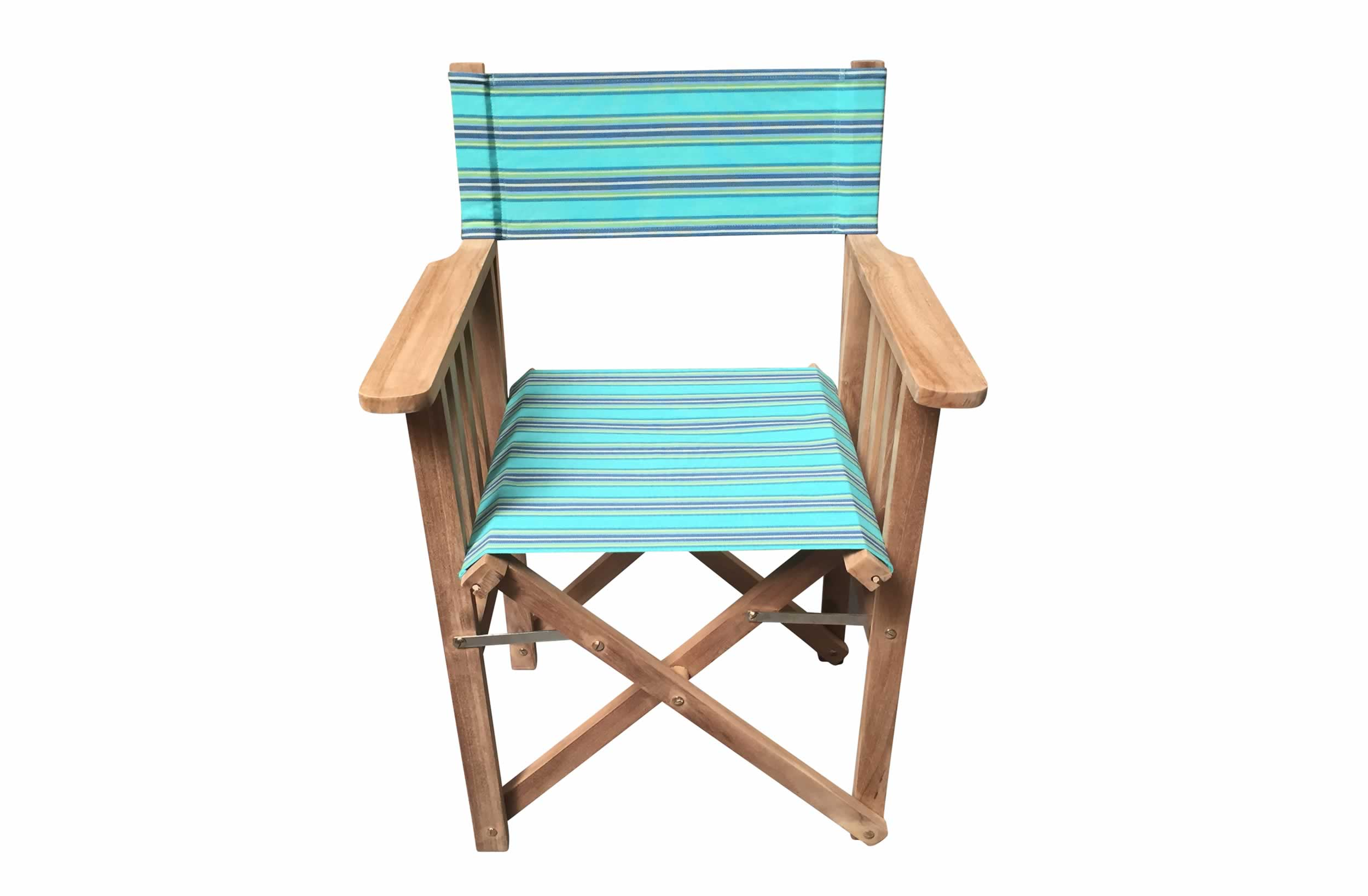 turquoise, blue, green - Directors Chairs