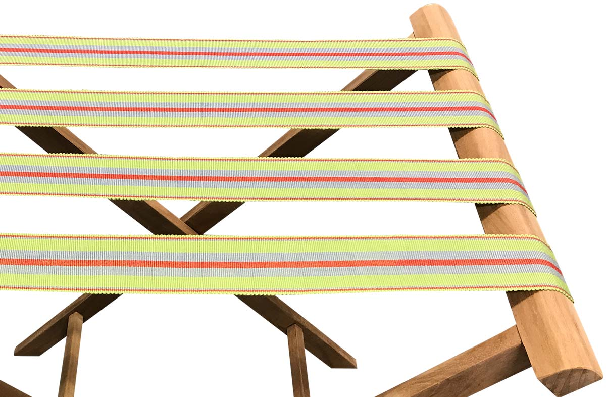 Lime Green  Folding Luggage Rack