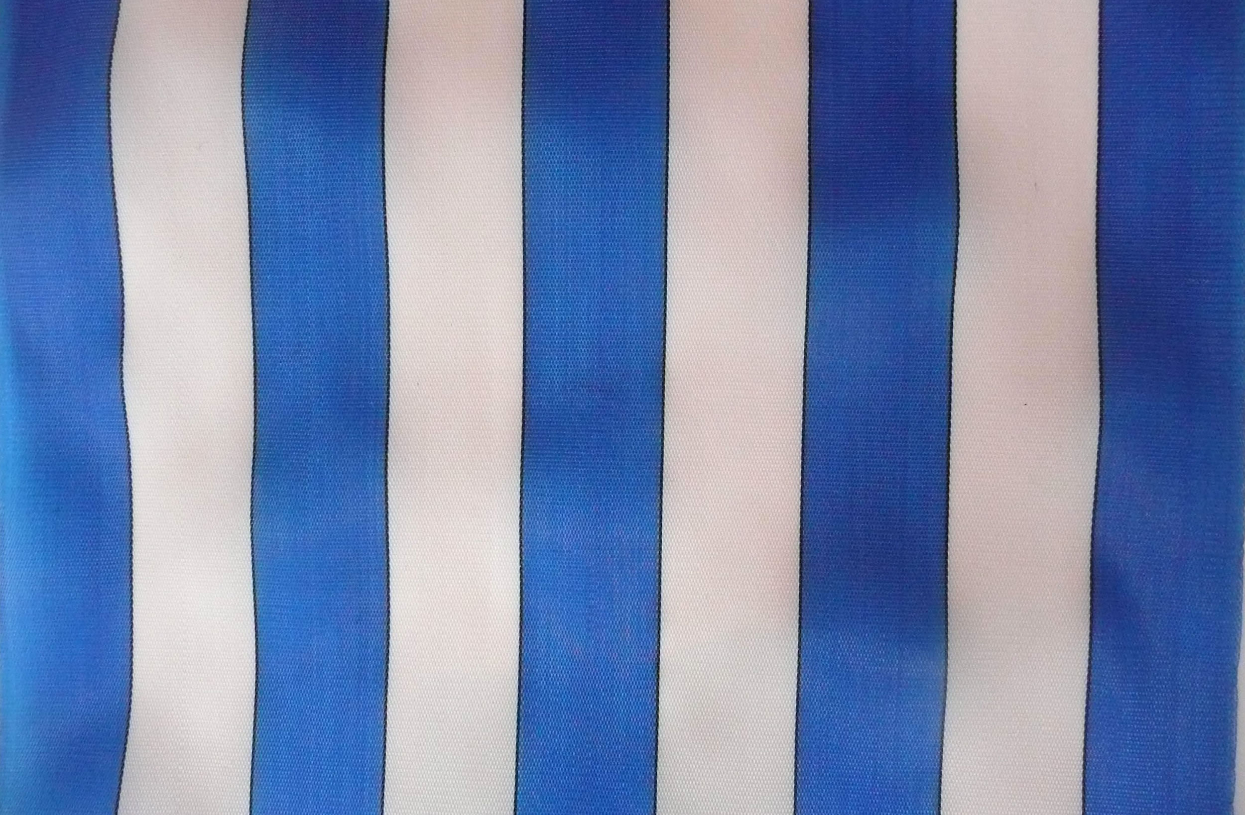 Weatherproof Blue White Stripe Replacement Deck Chair Slings