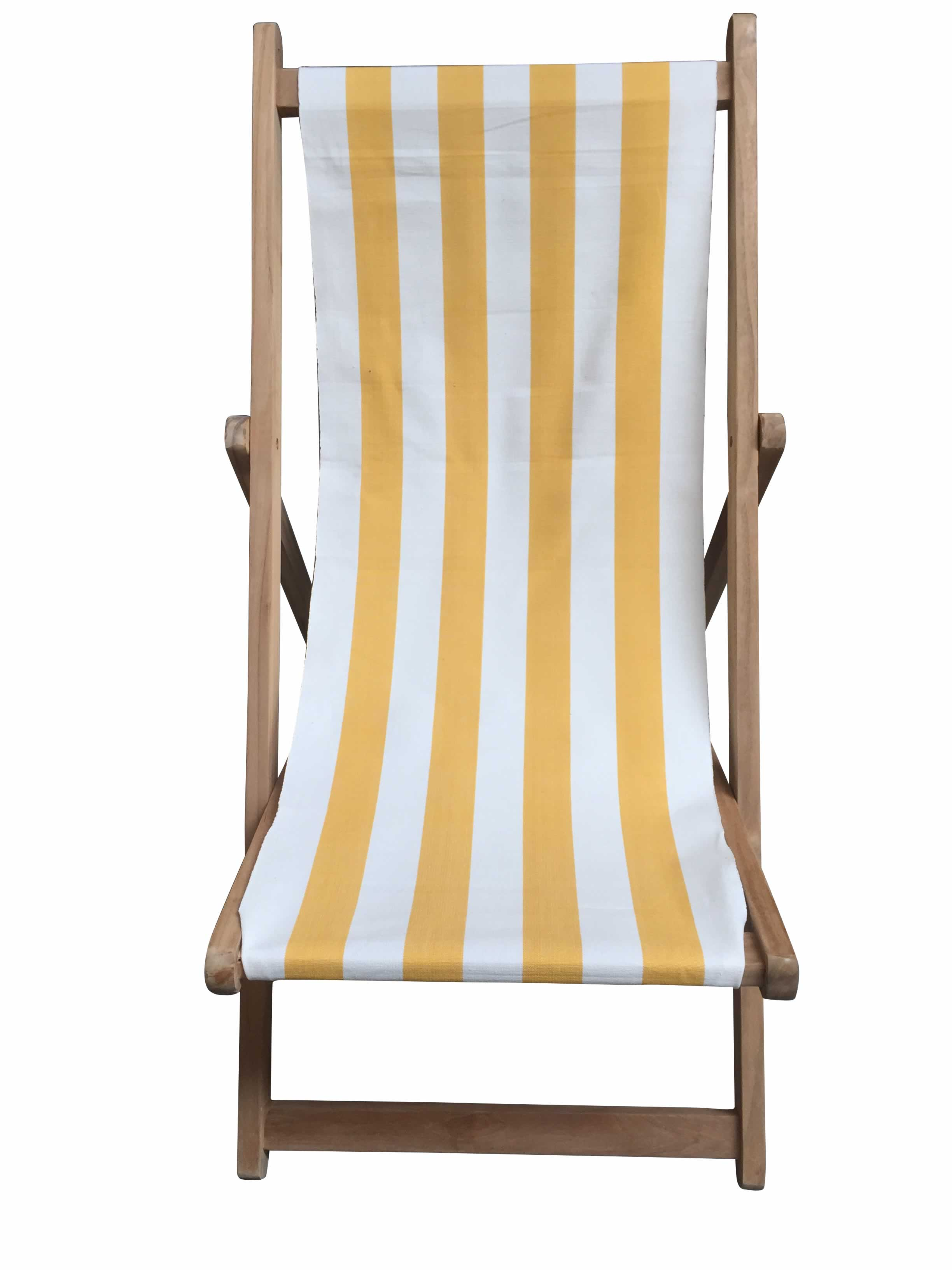 yellow and white stripe deckchairs the stripes company united states
