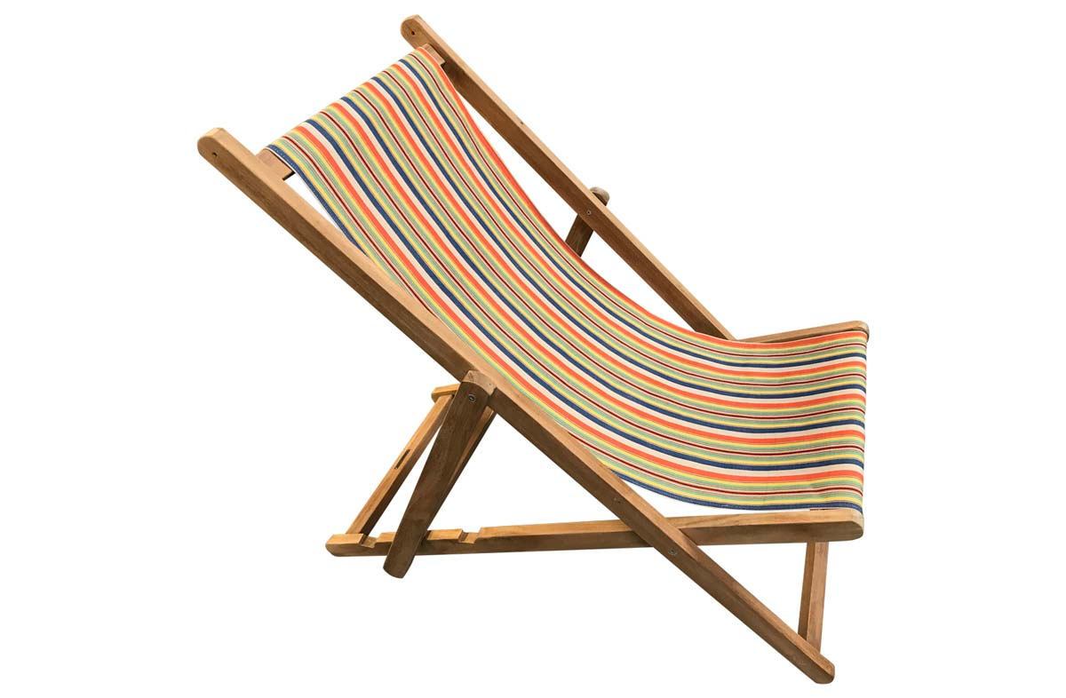 Solitaire Deckchairs | Buy Folding Wooden Deck Chairs