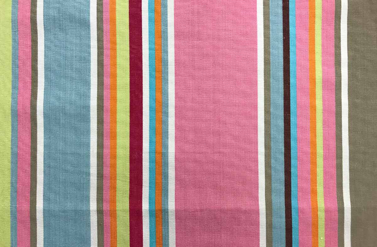 pink, taupe, blue - Striped Fabrics | Stripe Cotton Fabrics | Striped Curtain Fabrics | Upholstery Fabrics