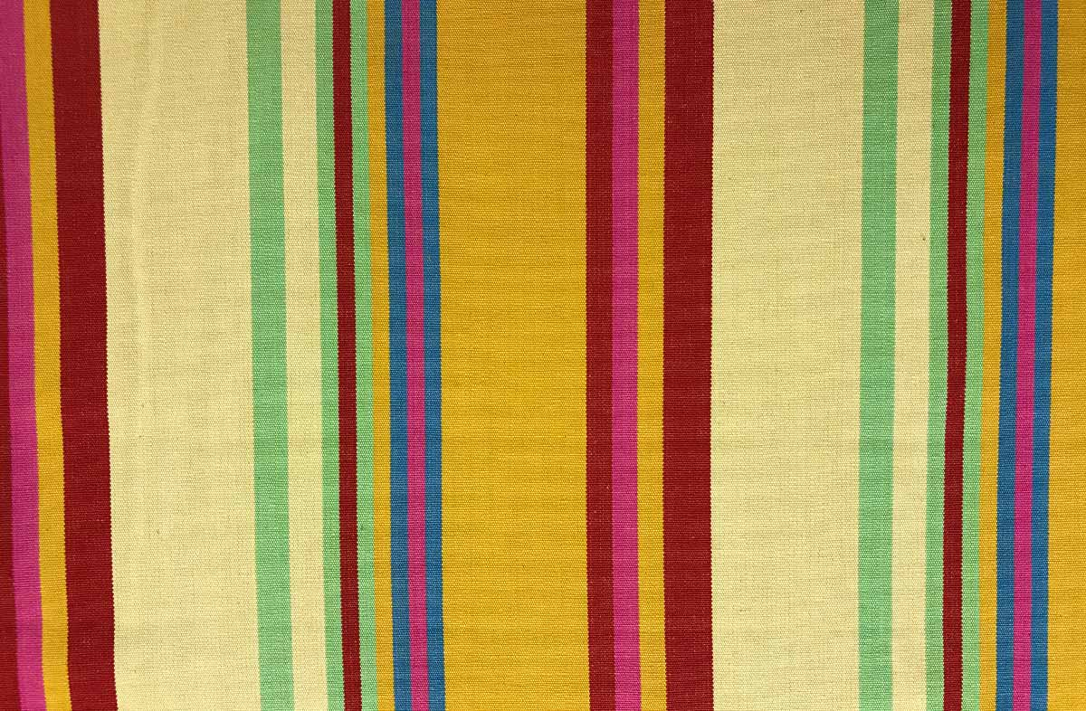 pale yellow, gold, pink - Striped Fabrics | Stripe Cotton Fabrics | Striped Curtain Fabrics | Upholstery Fabrics