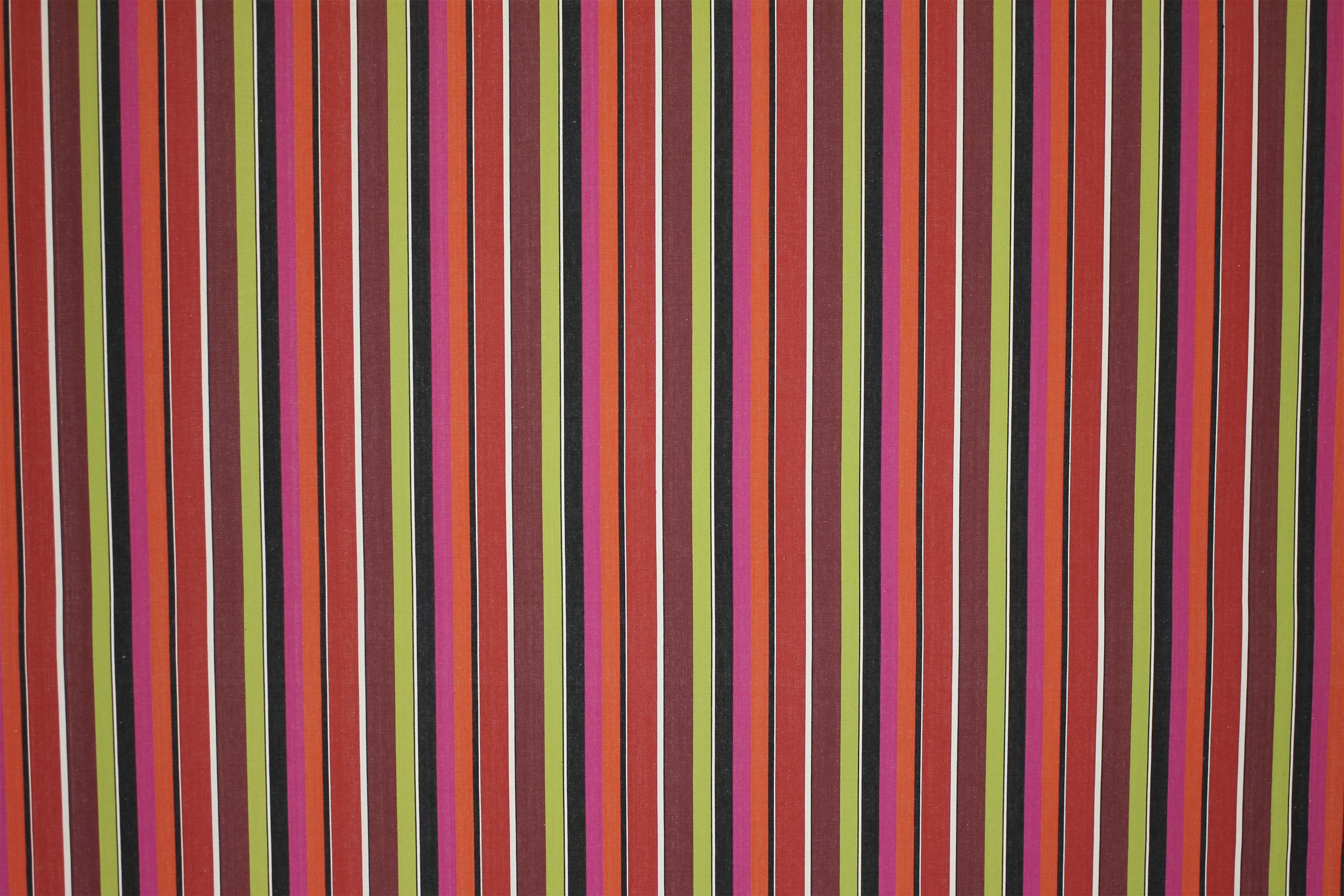 Hunting Fuschia Striped Fabric