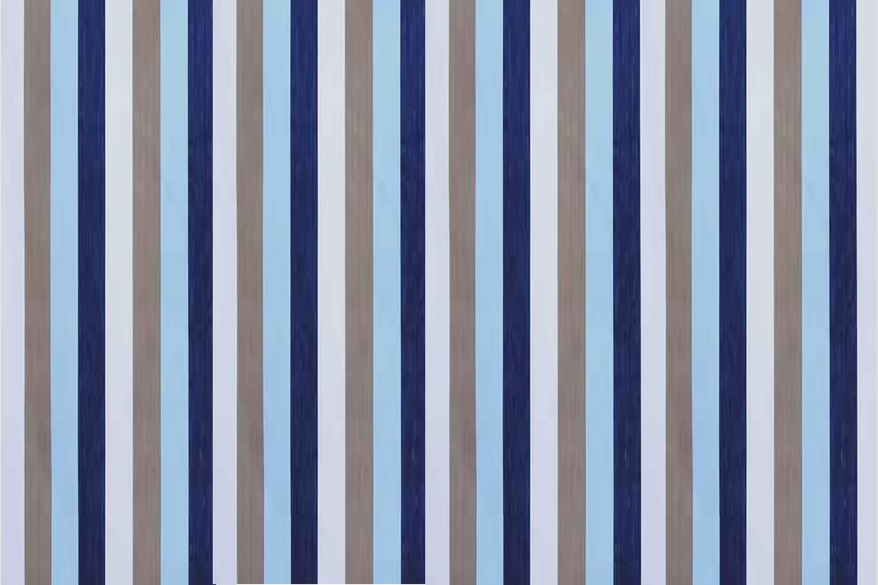 Jumping Blue Beige Striped Fabric