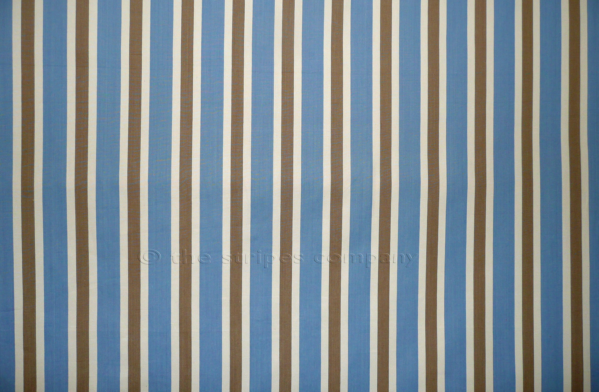 Sky Blue Striped Fabrics | Stripe Cotton Fabrics | Striped Curtain Fabrics | Upholstery Fabrics  Karate Stripes