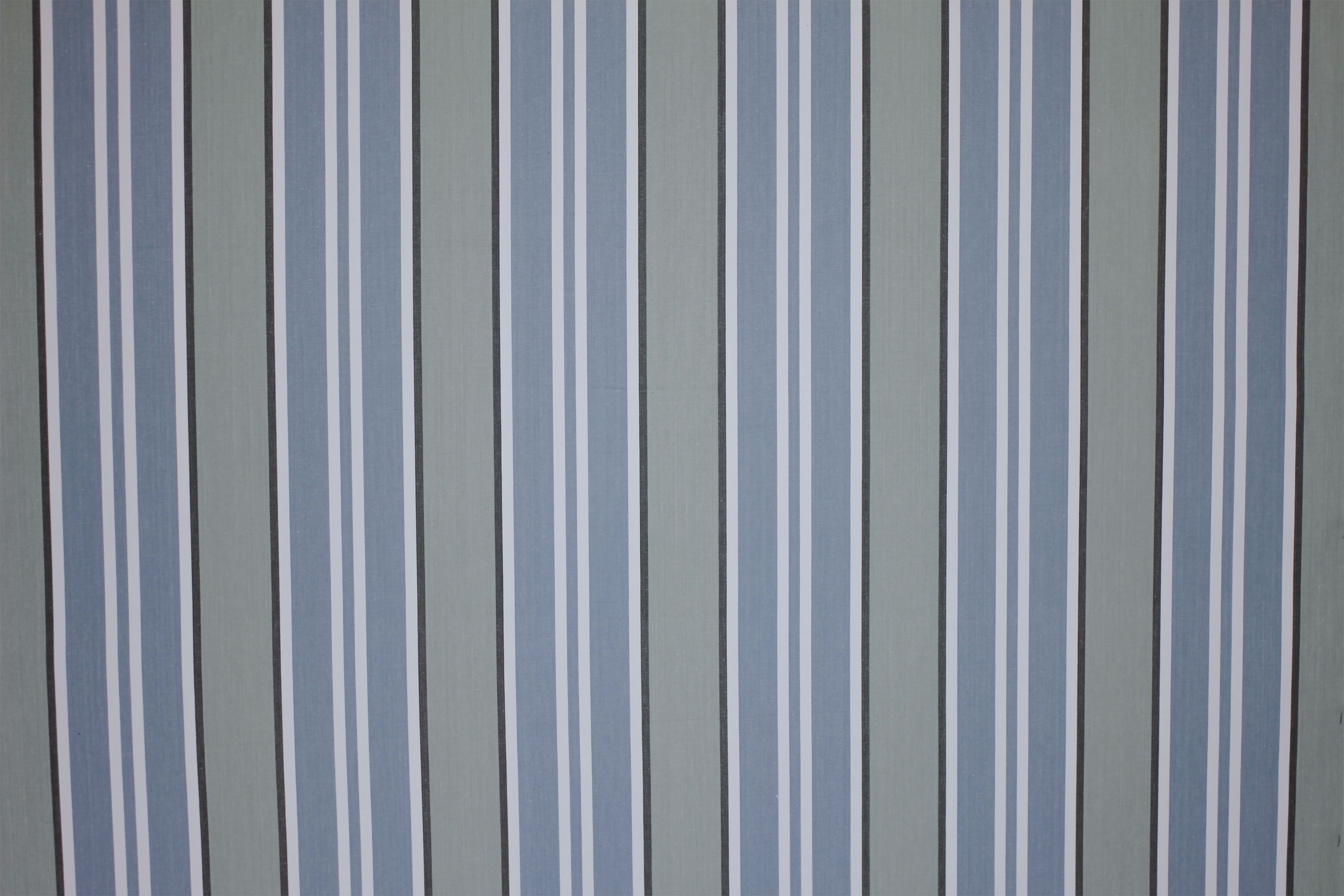 Teal Striped Fabrics | Stripe Cotton Fabrics |  Kendo Teal Stripe