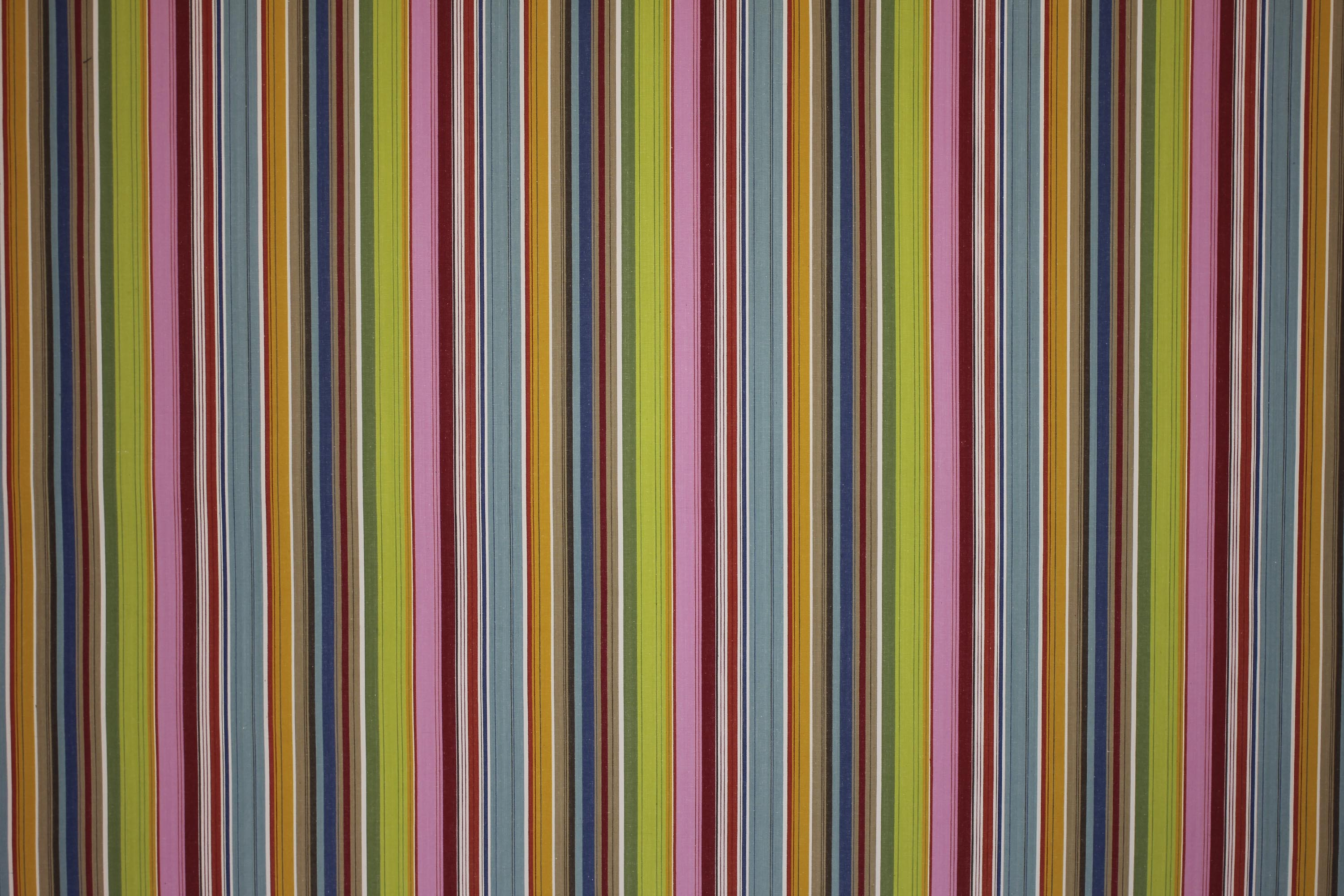 Pink Striped Fabrics  | Upholstery Fabrics  Parachuting Stripes