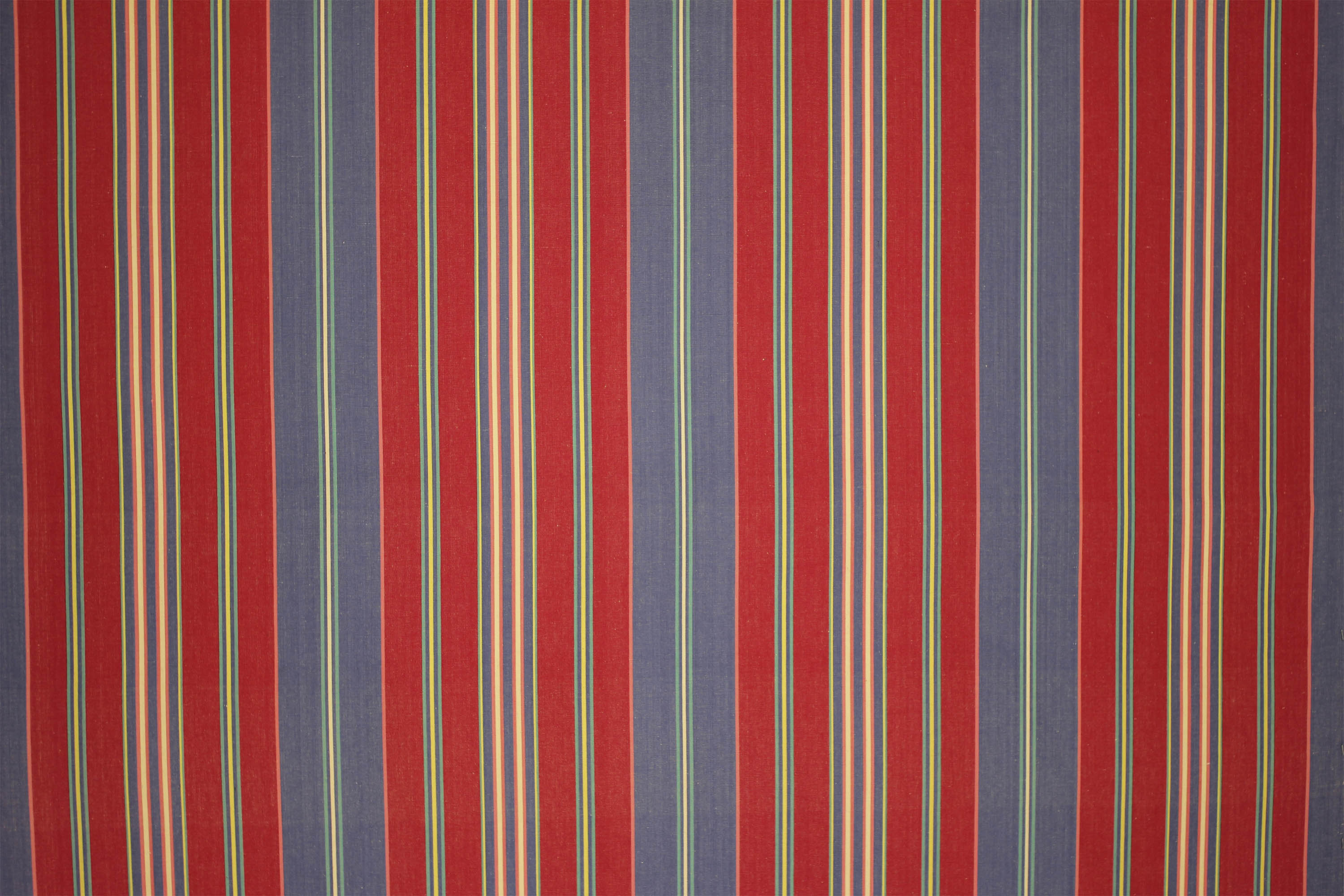 Red Striped Fabrics | Stripe Cotton Fabrics | Striped Curtain Fabrics | Upholstery Fabrics  Poker Stripes