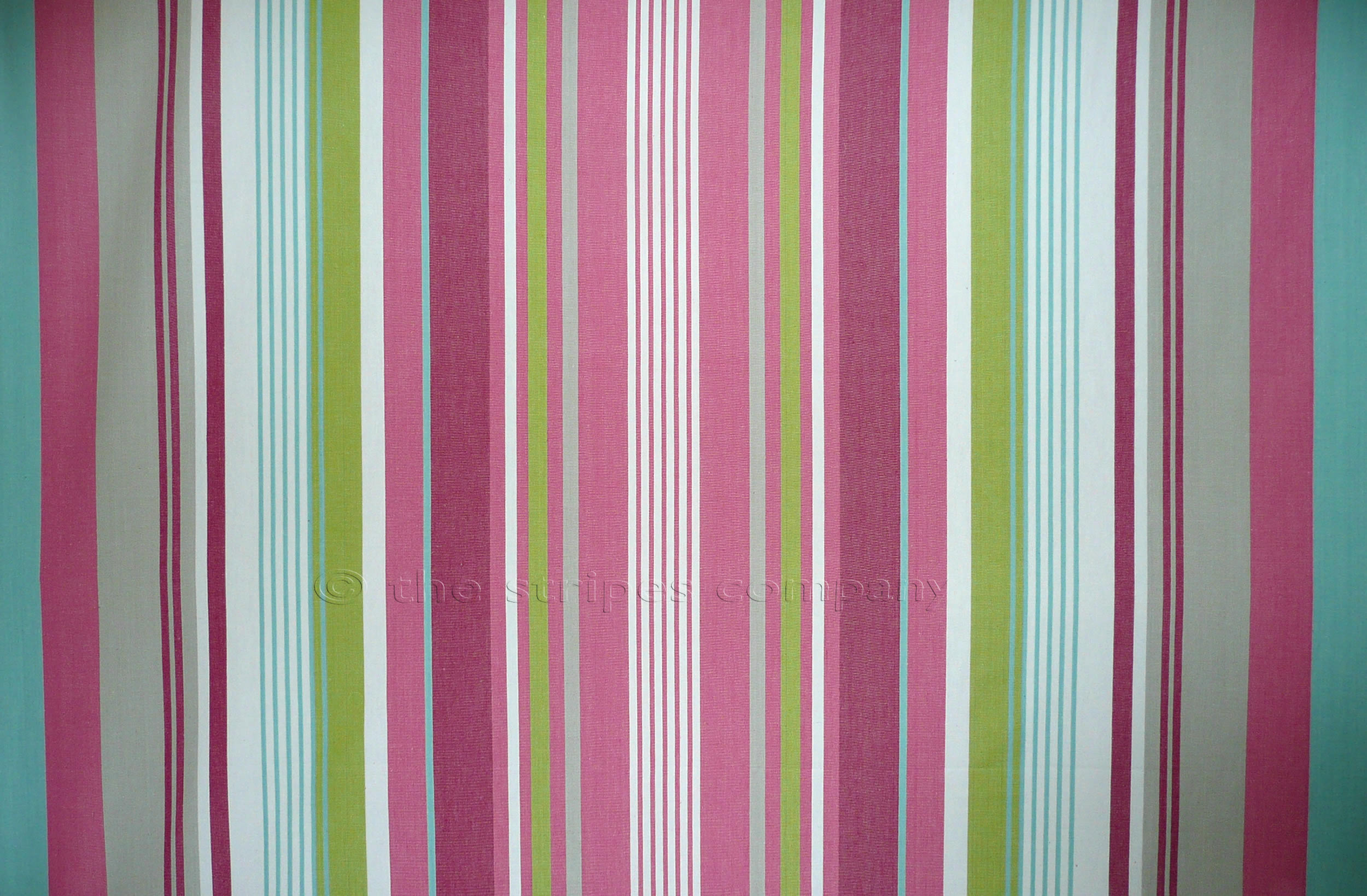 Pink Striped Fabrics Baby Pink Grey White Baby Blue Stripes The