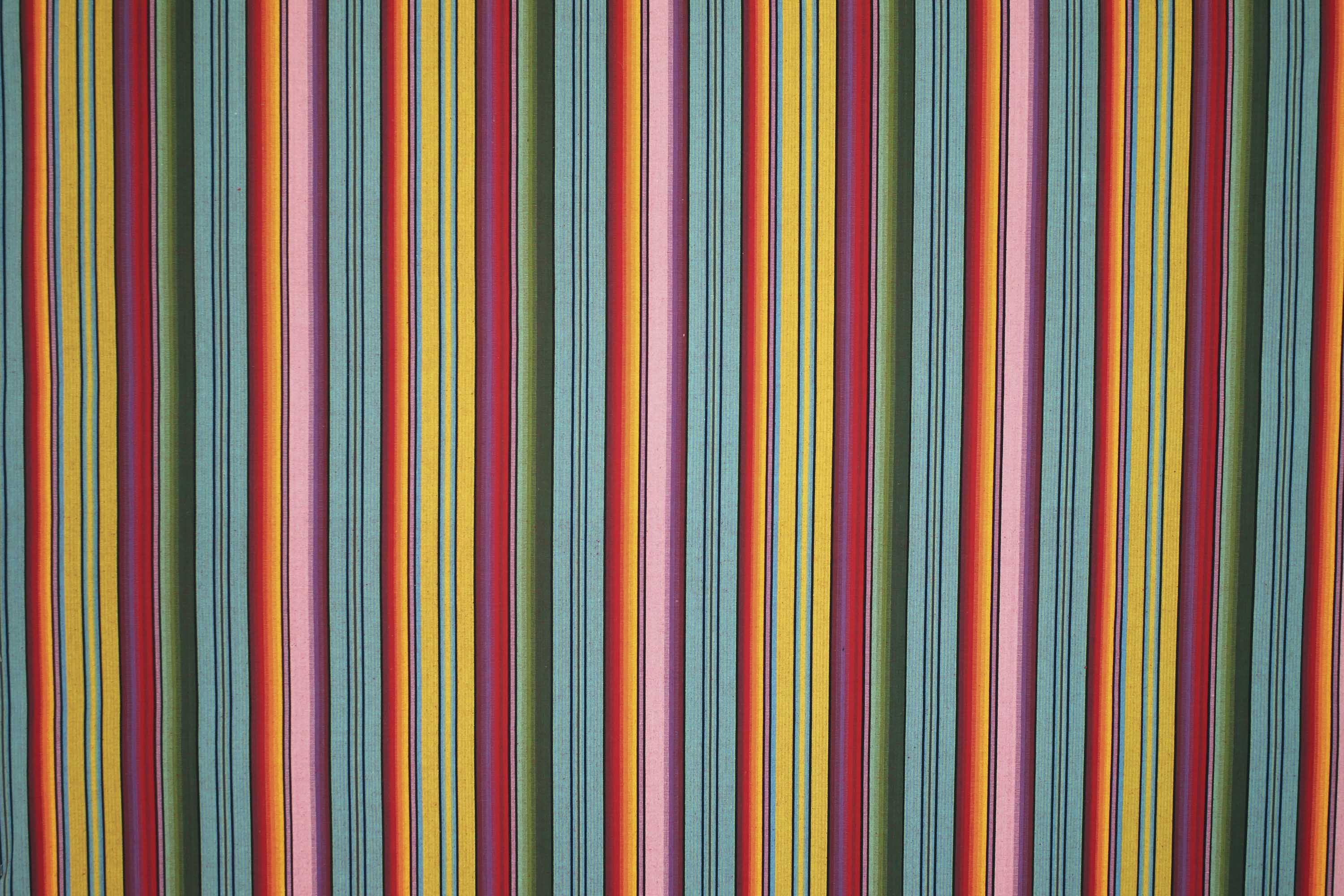 Snorkelling Blue Striped Fabric
