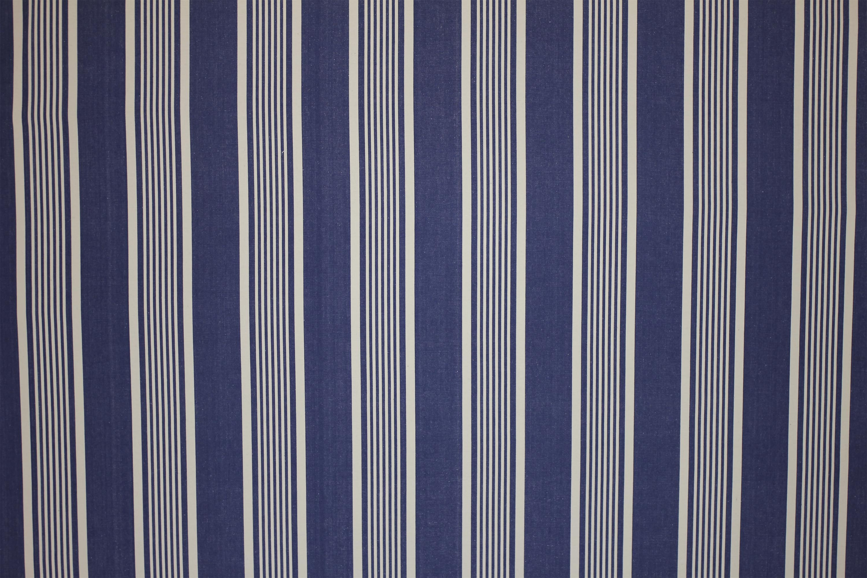 Snowboarding Navy Blue Striped Fabric | The Stripes Company United ...