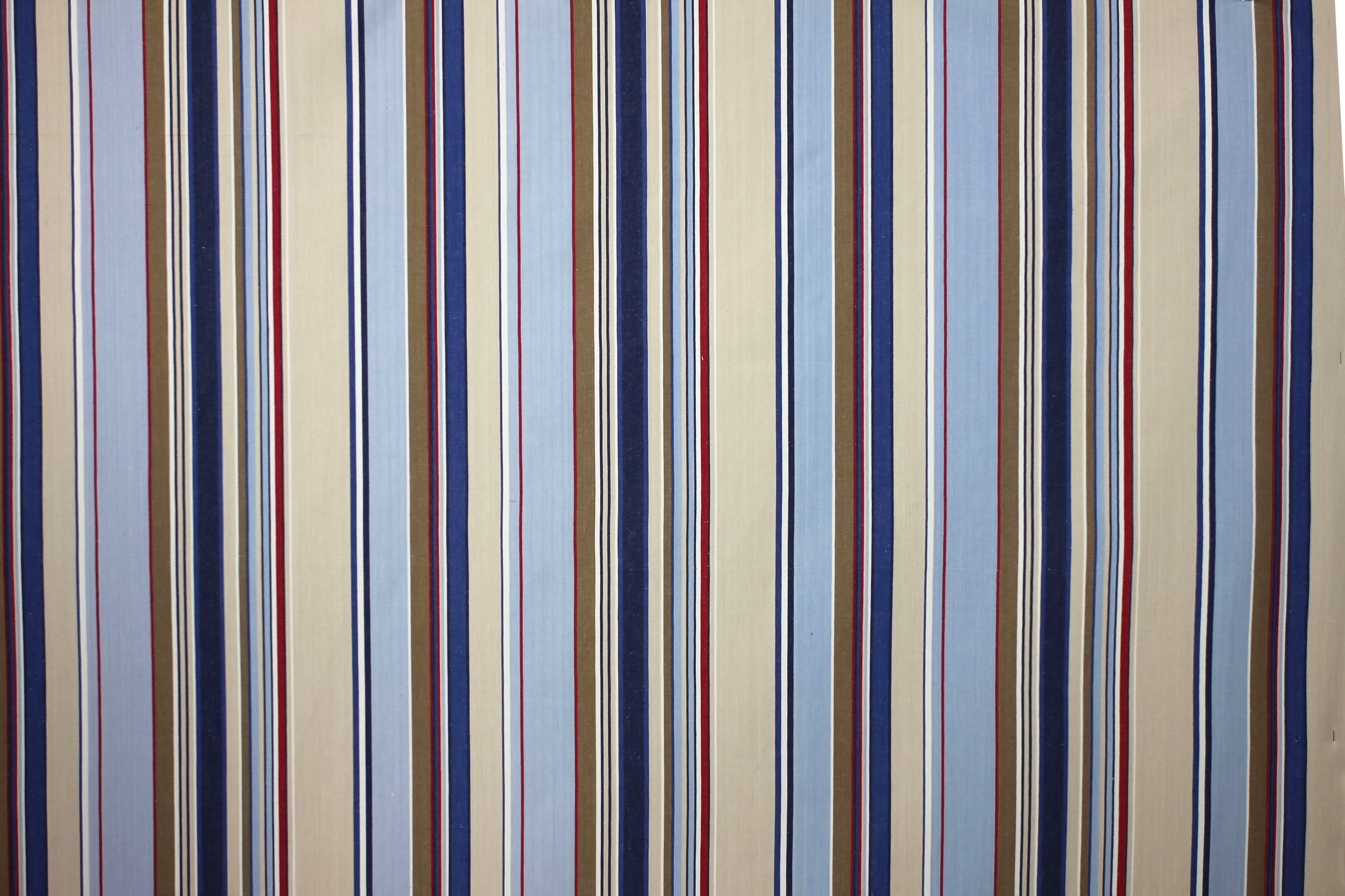 Wipe Clean Fabrics Stripes | Water Repellent Coated Fabrics pale blue, light grey, royal blue