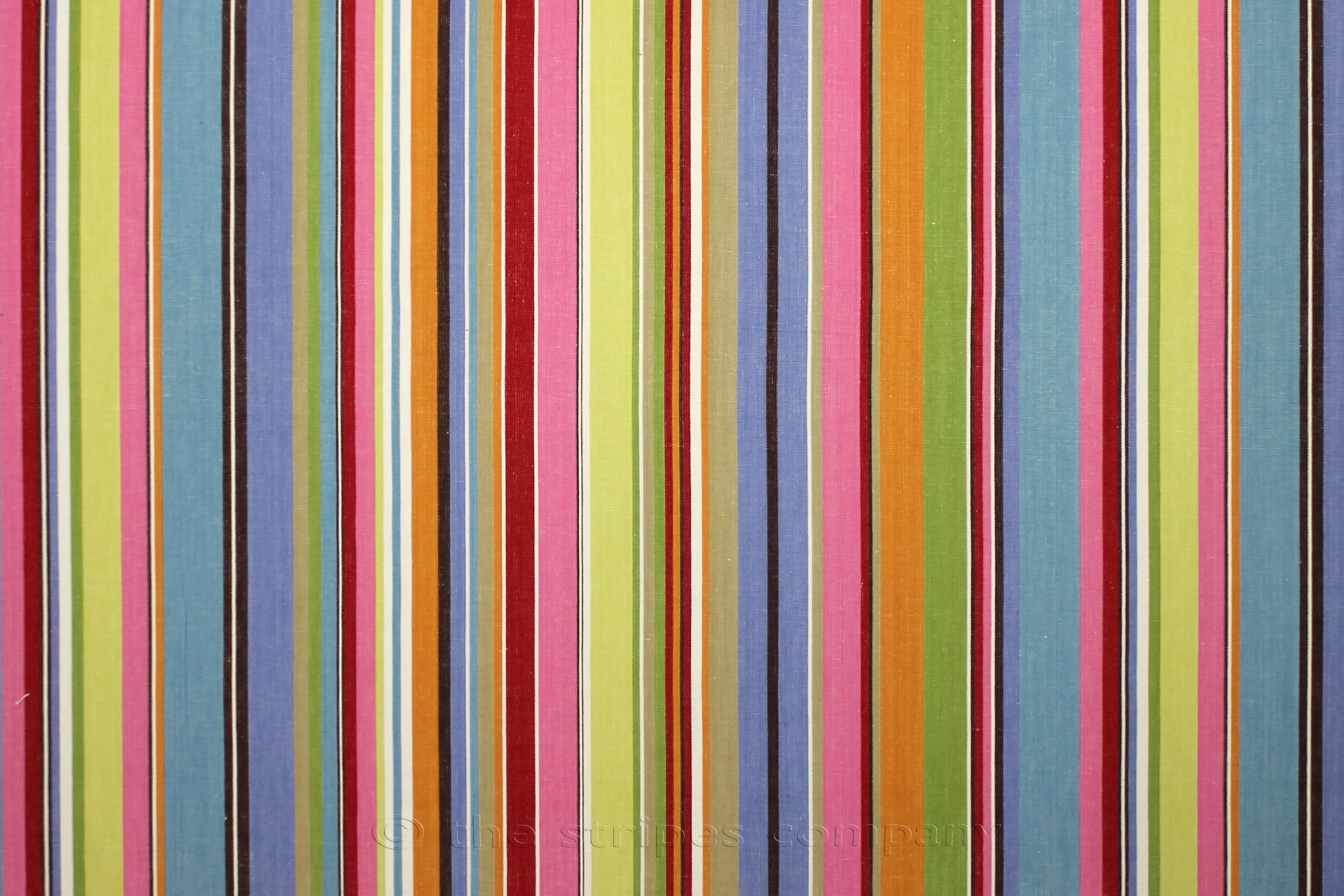 Blue and Pink Striped Fabric - Baseball Stripe | The Stripes ...