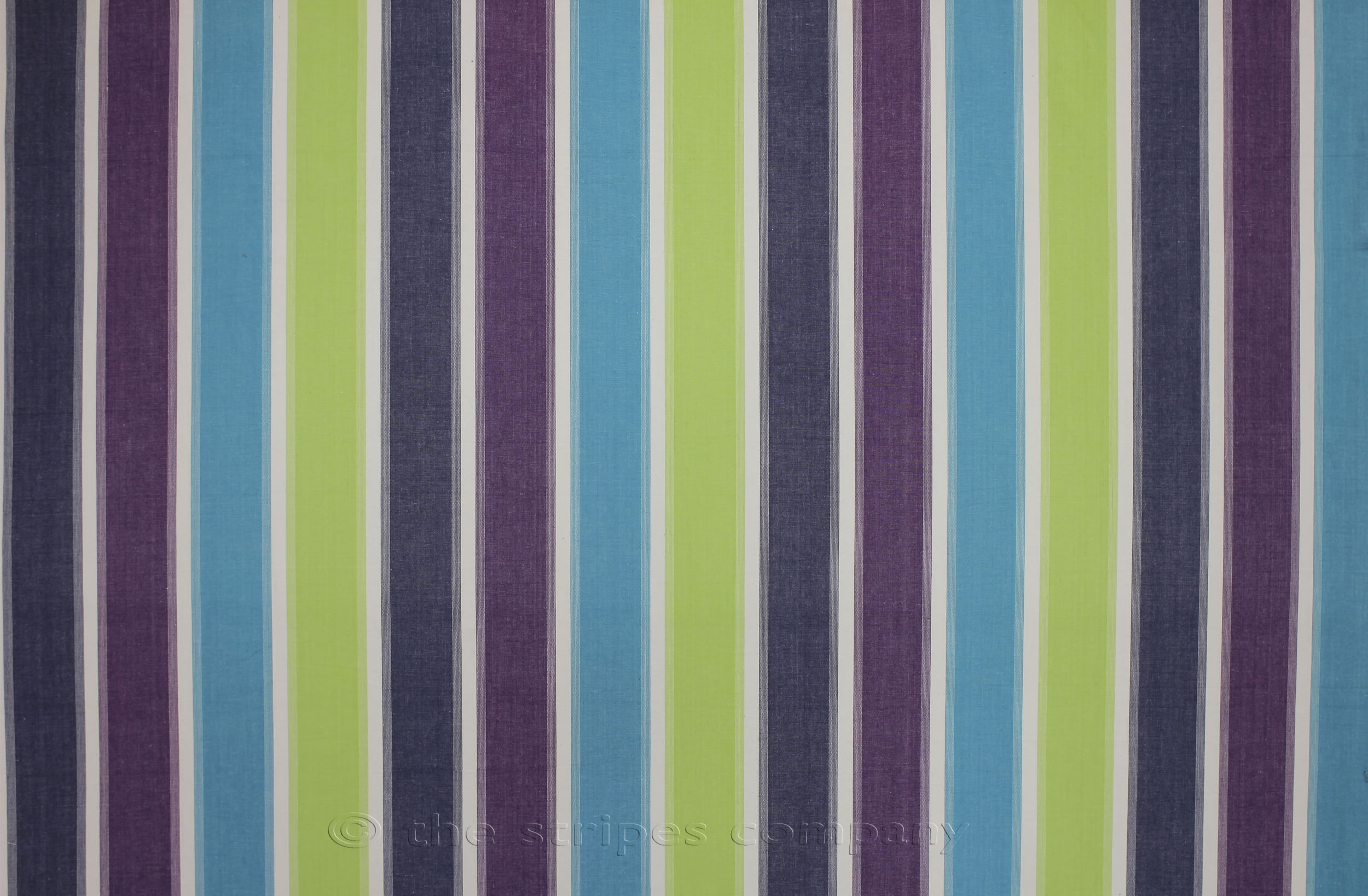 Striped Oilcloth Fabrics Lime Turquoise Navy Stripe Wipe Clean Coated