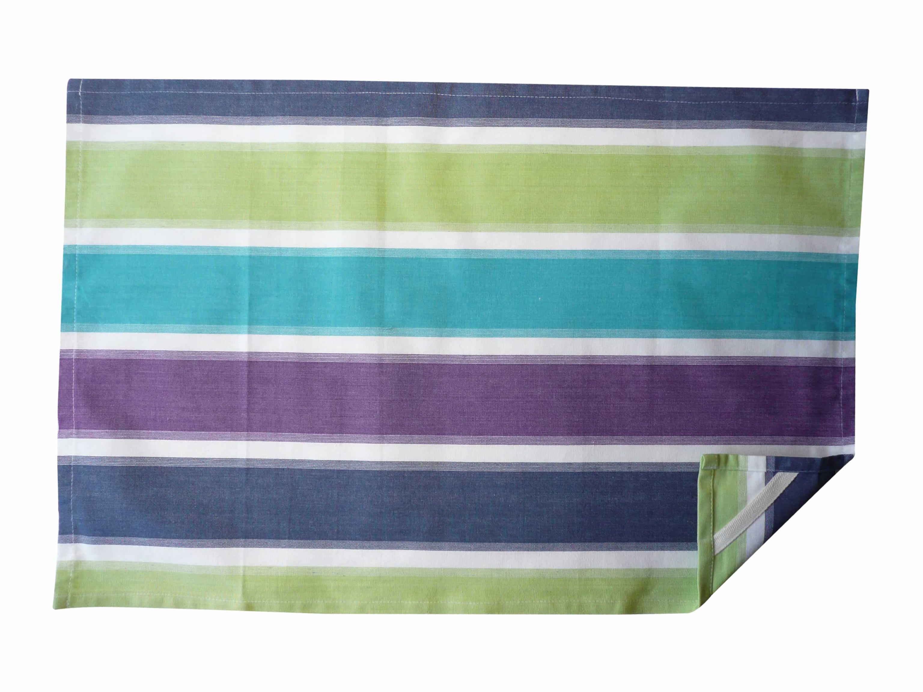 Bold Striped Tea Towels - Fishing Stripe
