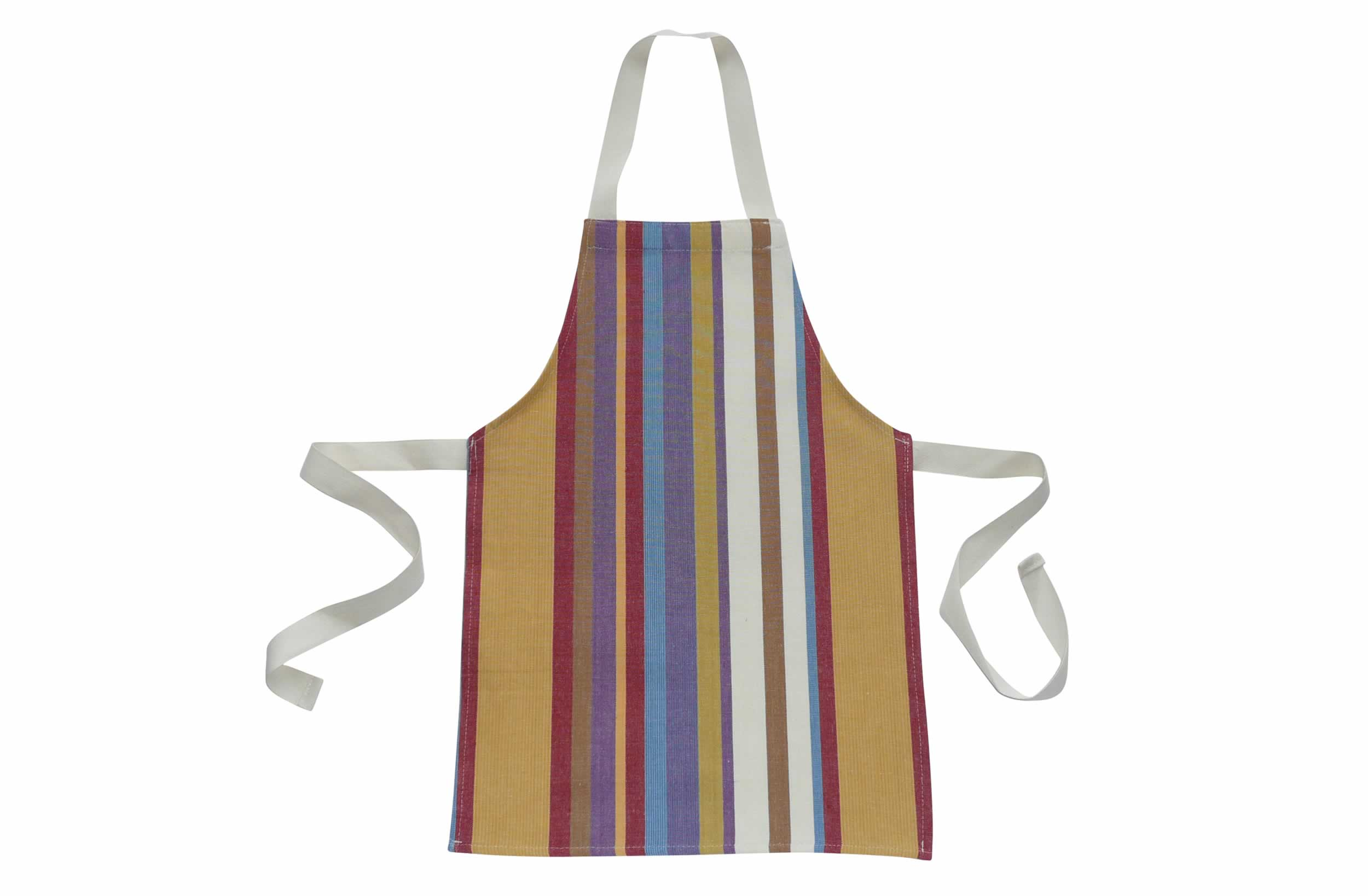 Striped Aprons For Small Children