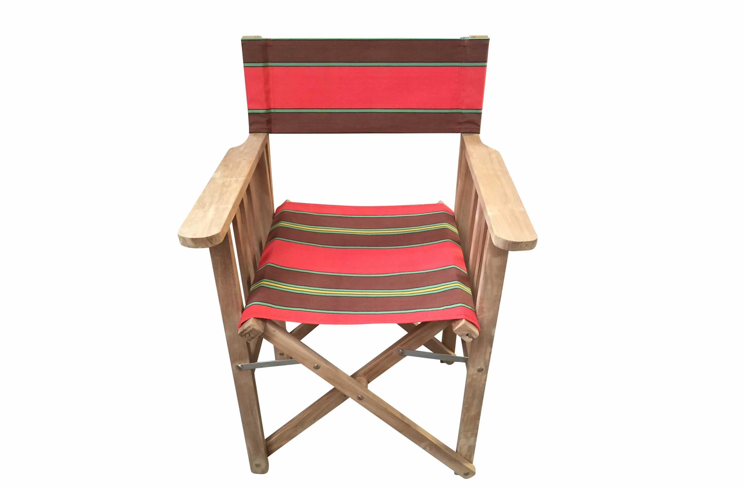 red, green, brown - Directors Chairs