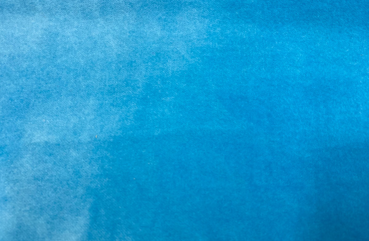 Turquoise Cotton Velvet Fabric | The Stripes Company