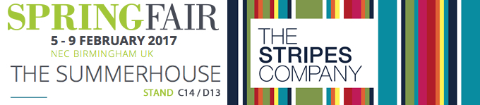 The Stripes Company at the Spring Fair 2017- The Summerhouse